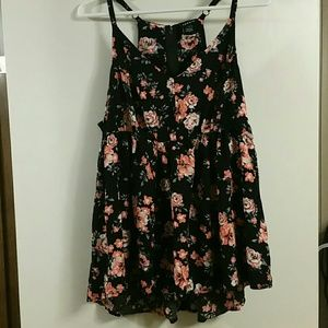 Torrid Baby Doll Top Size 0